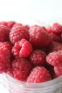 End of Season Raspberries