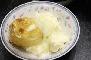 Custard and Ice-cream