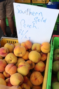 Southern Gold Peaches