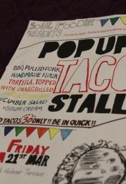 1st Taco Pop up, 21st March 2014. Photo by Robyn Joynt