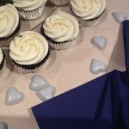 White Rose Wedding Cucakes,- Kate and Ashleys Wedding, July 2013