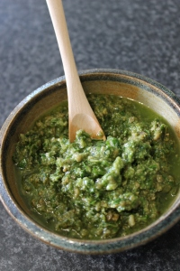 Beach Spinach Pesto