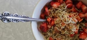 Quinoa and cranberry porridge