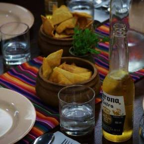 Handmade Corn Chips and Guacamole. Photo by Richard Mitchell