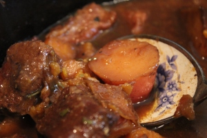 Kumara and Beef Slow Cooker