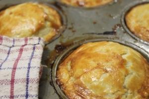Bake for 20-25 minutes until golden brown.