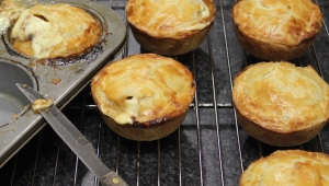 Steak Ale and Cheese Pies