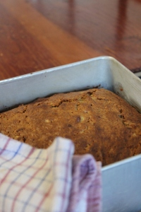 Bake for 45 minutes until golden brown.