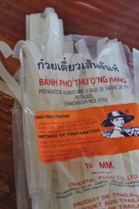 Use thick rice noodles, see back of packet for cooking instructions